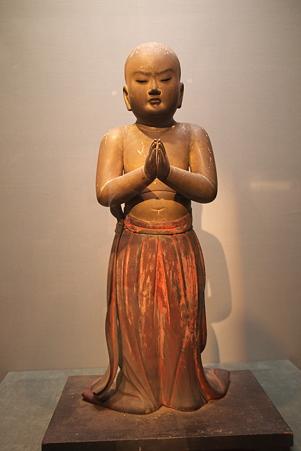 2010.11.15 東京国立博物館 彫刻 聖徳太子立像 鎌倉時代