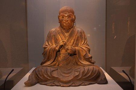 2010.11.15 東京国立博物館 彫刻 慈恵大師坐像 蓮妙作