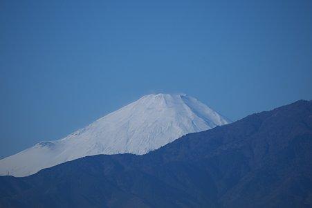 2010.12.23 散歩道 富士山