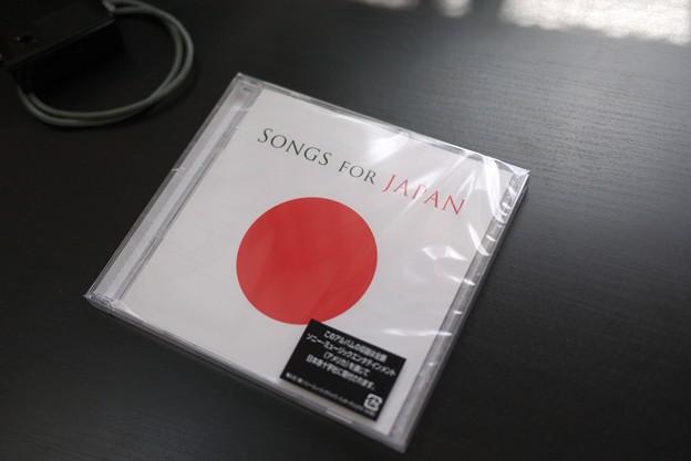 2011.04.24 机 SONGS FOR JAPAN 表