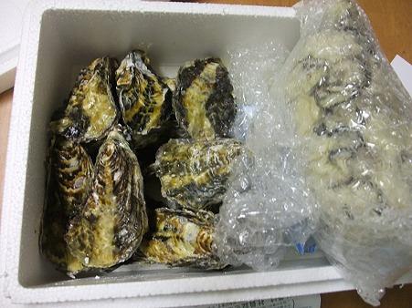 海の幸「牡蠣」