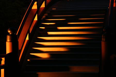 反橋の光の階段!(100430)