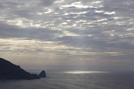 四国のみち(四国自然歩道)、千羽海崖を望むみち、指ノ鼻休憩所 - 001