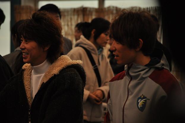 Photos: 笑顔の藤田騎手