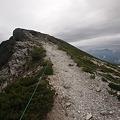 白馬岳山頂もうすぐ