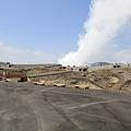 写真: 100512-73九州ロングツーリング・阿蘇中岳噴火口2