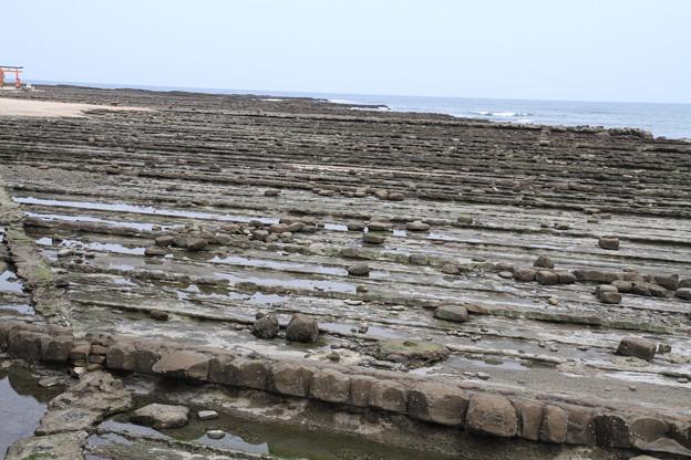 写真: 100513-43九州ロングツーリング・鬼の洗濯岩1