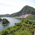 Photos: 100517-45九州ロングツーリング・天草五橋・天門橋からの海