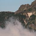 写真: 100722-14穂高連峰と槍ヶ岳(2/30)