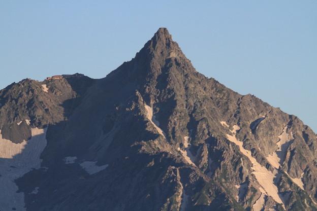 写真: 100722-42蝶ヶ岳登山・穂高連峰と槍ヶ岳(30/30)
