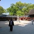 Photos: 110508-55拝殿の左側