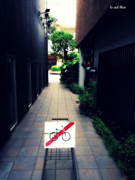 自転車通行禁止