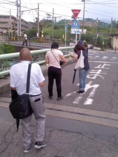 ポスティング(7月7日、七里ガ浜)