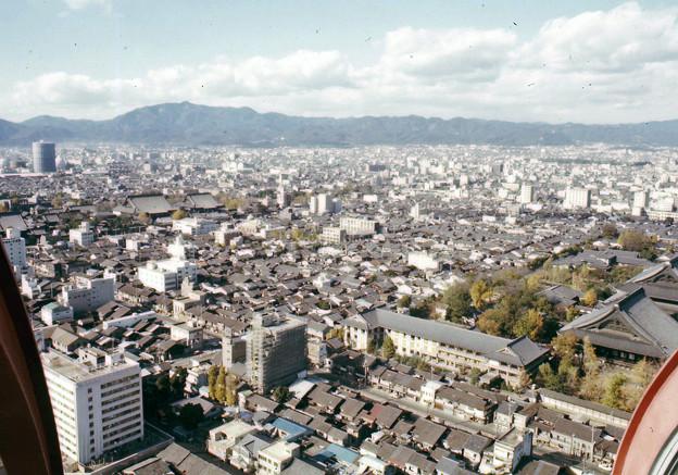 京都タワーからの眺望(40年前)-2