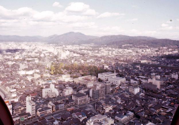 京都タワーからの眺望(40年前)-5