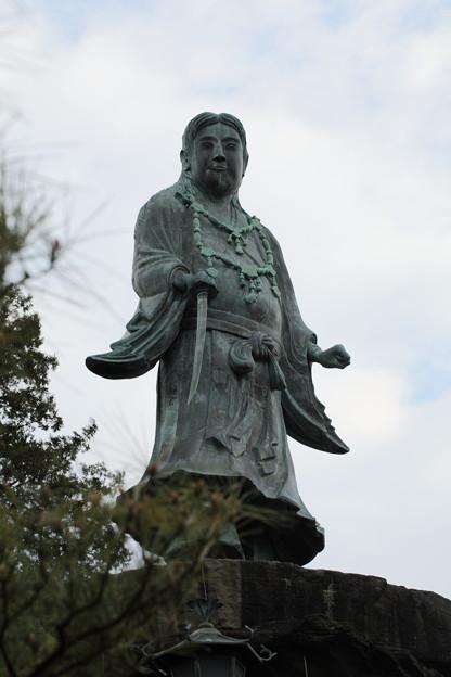 日本武尊の像(やまとたけるのみこと)(1)