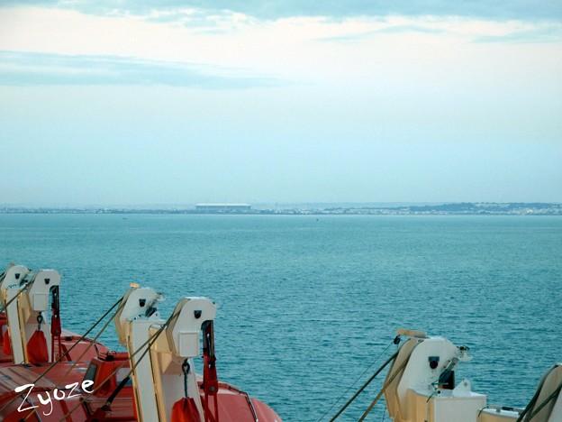 地中海…北アフリカへと。