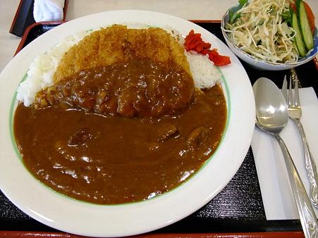 カツカレー(道の駅・和【京都】)