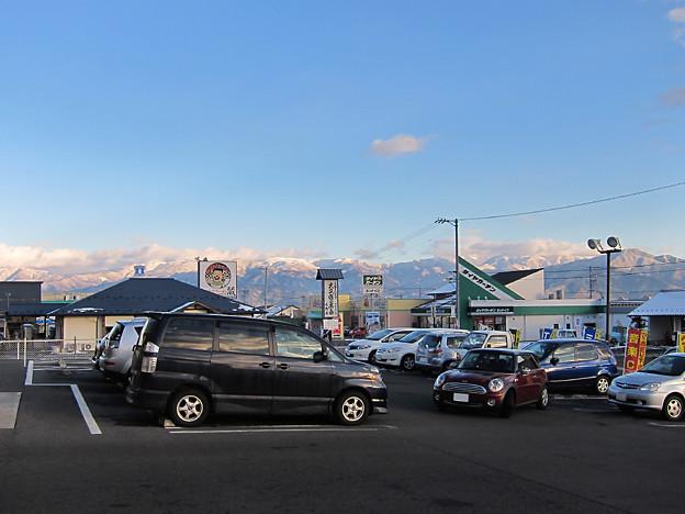 Photos: 雪の上信