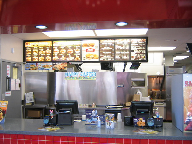 Jack In the Box - Order Counter